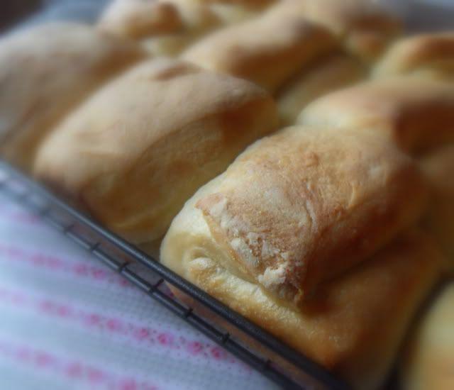 Bread Machine Parker House Rolls