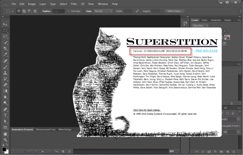 Adobe Creative Suite 6 (CS6) sort le bout de son nez avec Photochop CS6 9