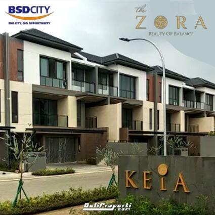 keia the zora bsd city