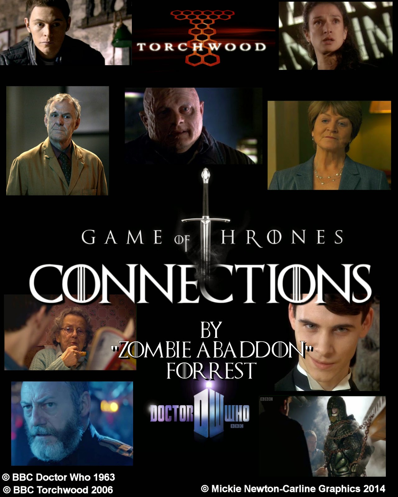 b3a9e8bf98fa5 Project  Torchwood  Connections Game of Thrones by