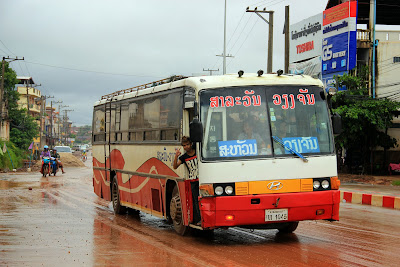 Regular Bus Line in Pakse