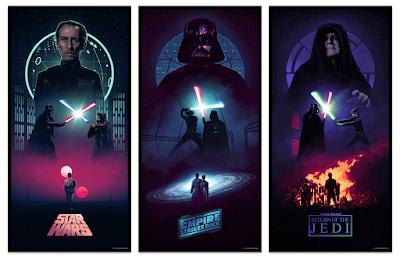 Star Wars: The Original Trilogy Screen Prints by Marko Manev x Bottleneck Gallery