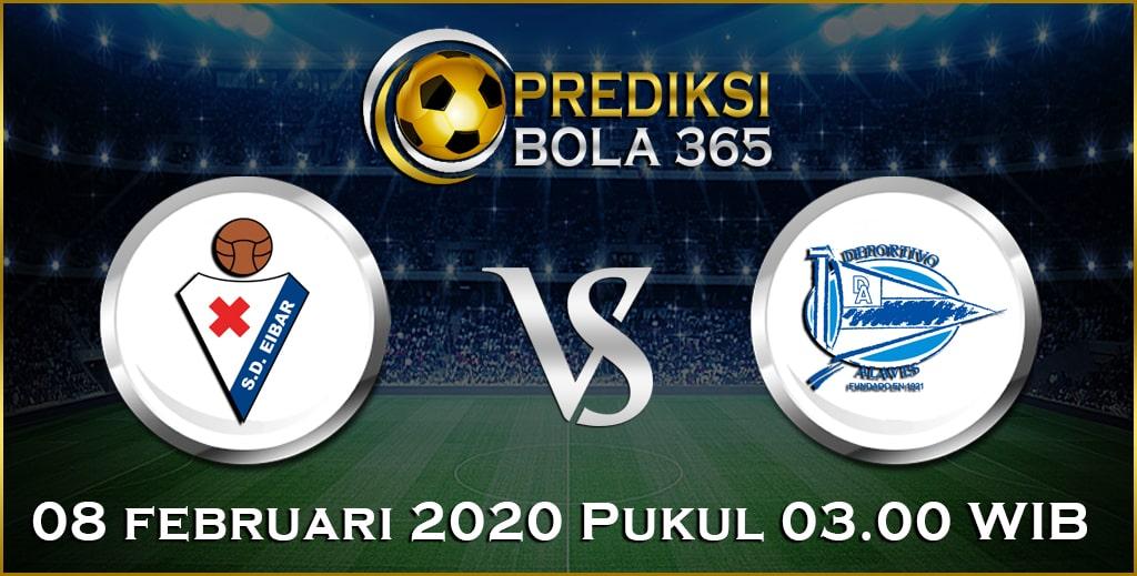 Prediksi Skor Bola Alaves vs Eibar 08 February 2020