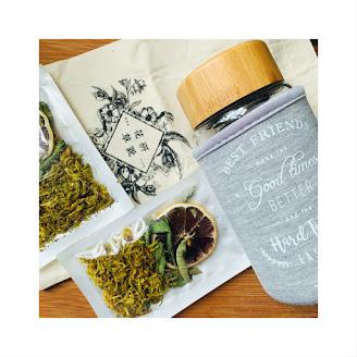 新茶療飲杯茶 ~ 石斛檸檬茶