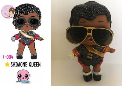 Shimone Queen doll from LOL Hair Goals series 5 wave 1