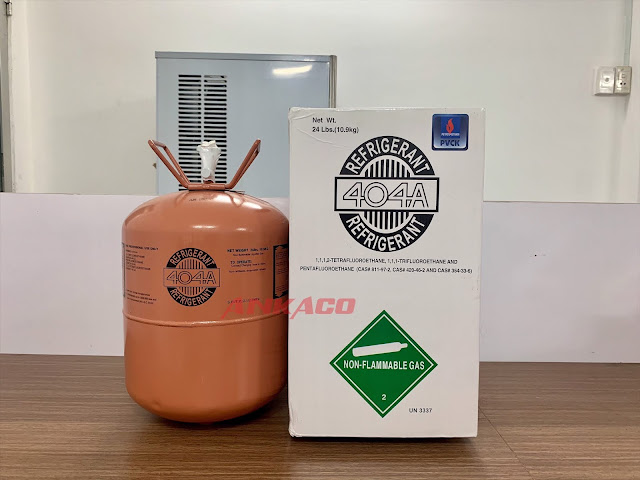 R404 - Mua gas lạnh R404 kèm quà tặng nón bảo hiểm 0911219479