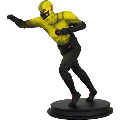 San Diego Comic-Con 2018 Exclusive The Flash Crisis on Earth X Dark Flash 19 Scale Polystone Statue by Icon Heroes x DC Comics