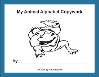 preschool copywork