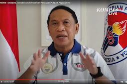 Zainudin Amali Akan Berkantor di Papua Selama Pelaksanaan PON XX Berlangsung