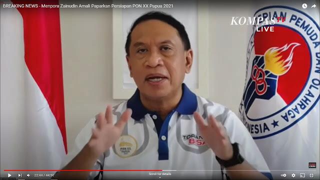 Zainudin Amali Akan Berkantor di Papua Selama Pelaksanaan PON XX Berlangsung.lelemuku.com.jpg