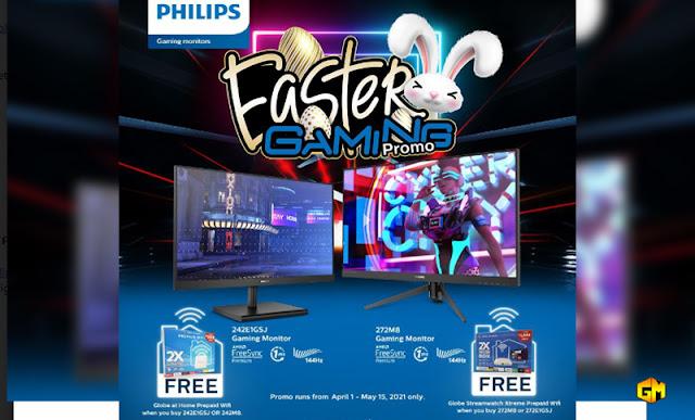 Philips Monitor Easter Gaming Promo Gizmo Manila