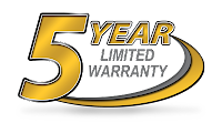 Yamaha 5 year factory warranty