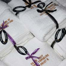 Customized towel souvenirs in Port Harcourt, Nigeria
