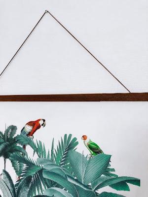 Stoere jungle poster voor in de kinderkamer Photowall