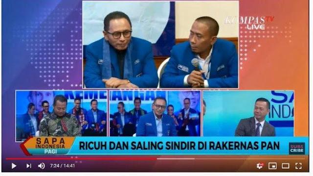 Rakernas PAN Ricuh, Adi Prayitno Sebut PAN Sangat Bergantung pada Amien Rais