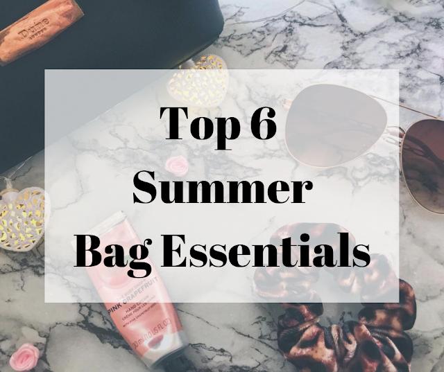 Top 6 Summer Bag Essentials