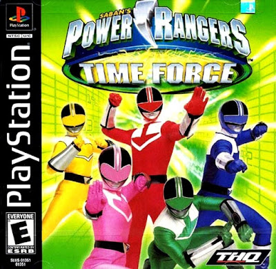 descargar power rangers time force psx mega