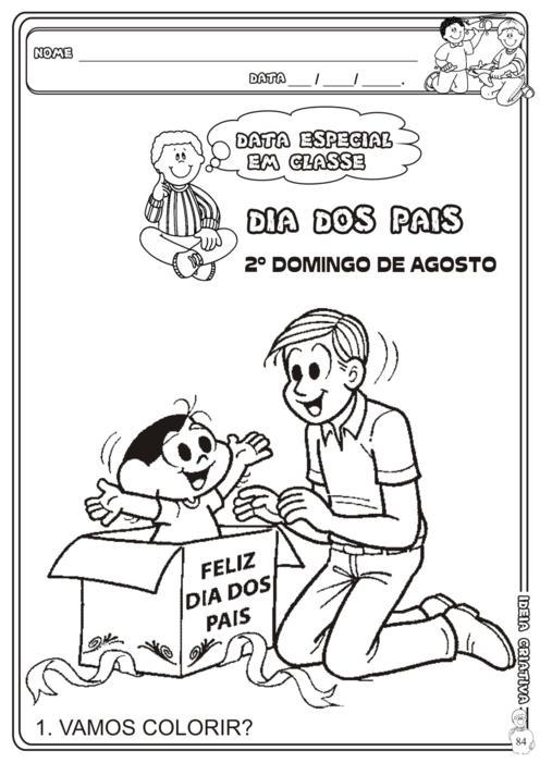 Blog Professor Zezinho Atividades Dias Dos Pais