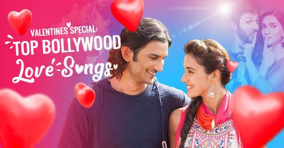 400 Most Romantic Bollywood Love Song List - बॉलीवुड लव संग - Old and New Hits