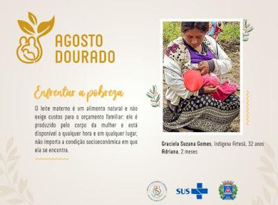 Agosto Dourado: Mês do Aleitamento Materno e Semana Mundial da Amamentação