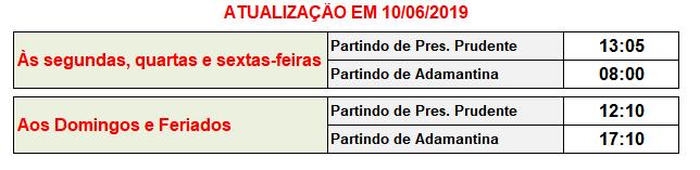 Jandaia Horarios Transportes Osvaldo Cruz