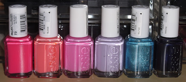 Essie Nail Polish Haul