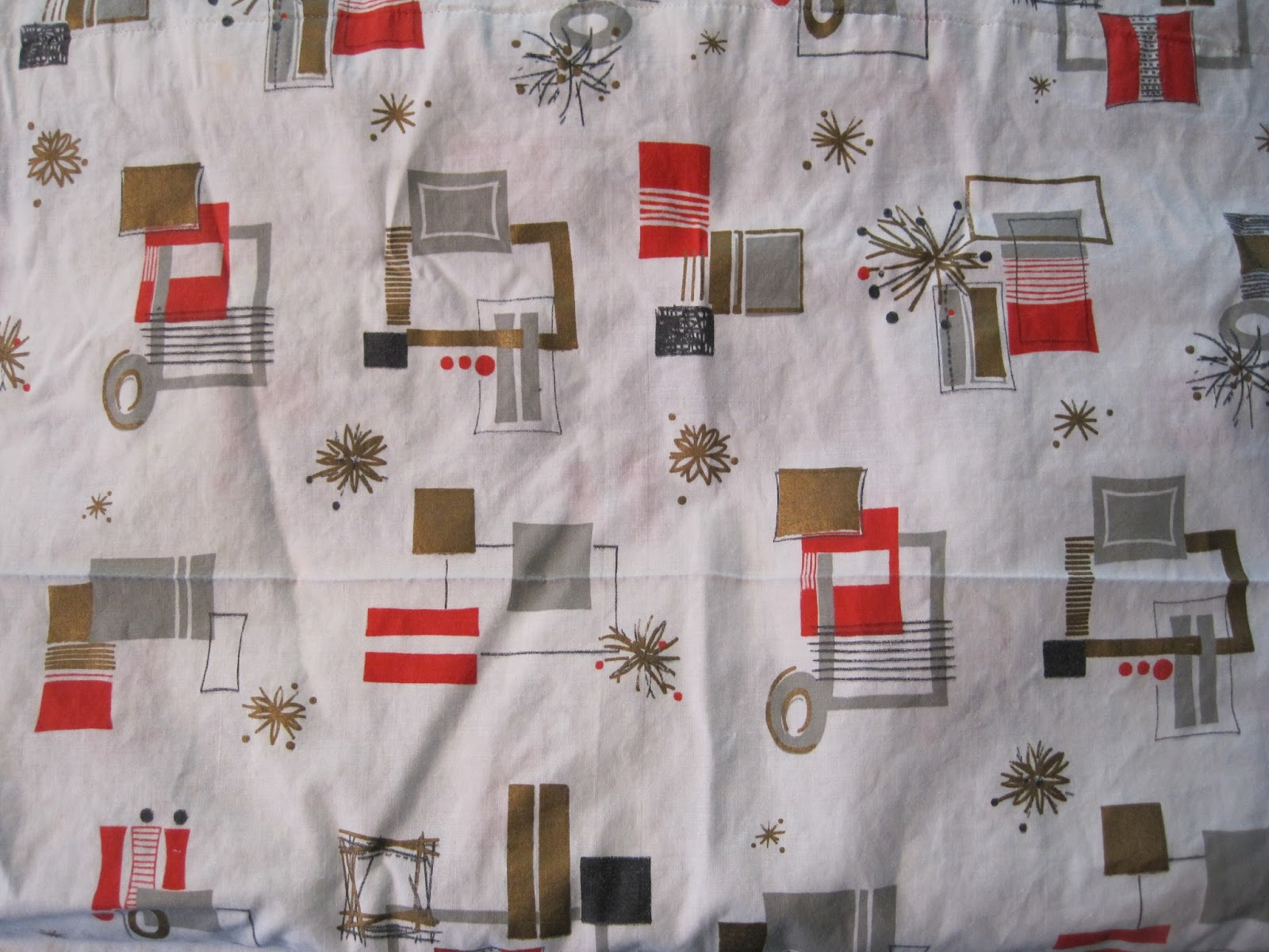 Retro 1950s Fabric Kitchen Curtains Mishistoriasdeterror Retro