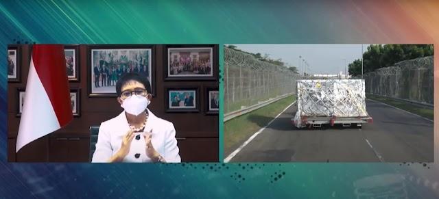 Indonesia Terima 358.700 Dosis Vaksin AstraZeneca Dari Pemerintah Prancis