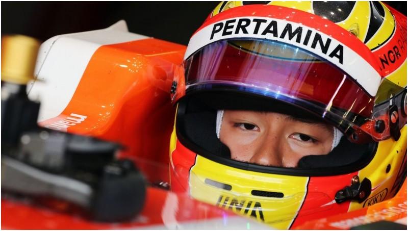 Rio Haryanto gagal finish di GP Inggris