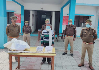 पिसांवां पुलिस ने अवैध असलहा फैक्ट्री पकड़कर एक अभियुक्त को किया गिरफ्तार