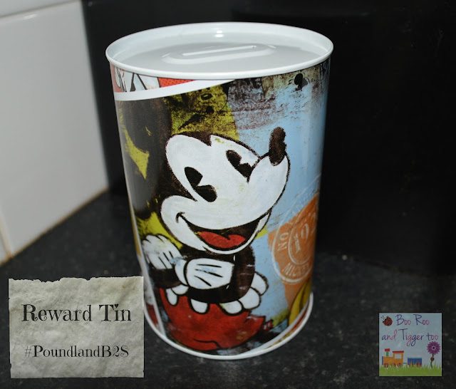 Poundland Back to School Reward Tin #PoundlandB2S
