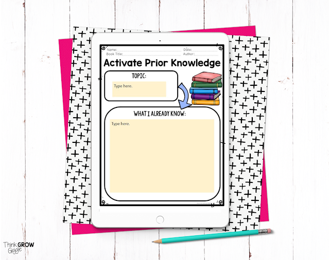 free print and digital nonfiction activity for kids