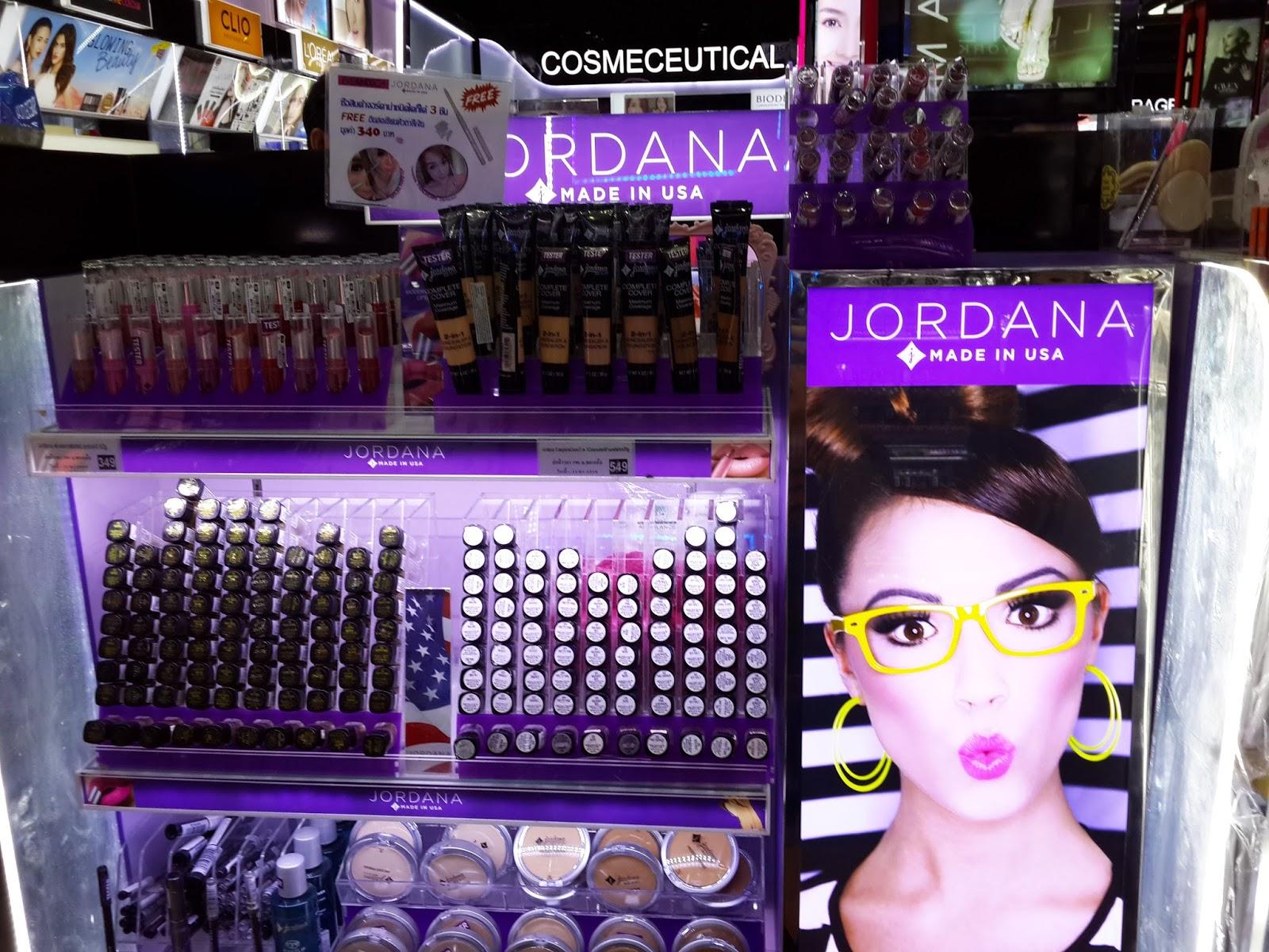 jordana bangkok drugstore makeup