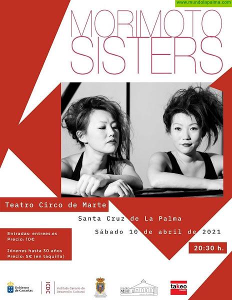 El Teatro Circo de Marte acoge el sábado un concierto del dúo Morimoto Sisters