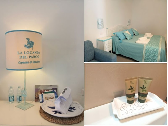 camera locanda del parco Asinara