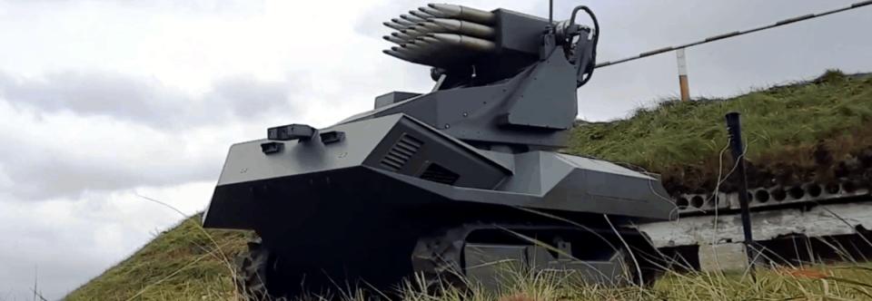 Білорусь випробовує роботизований комплекс Вістл