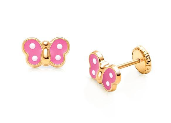 kids gold earrings