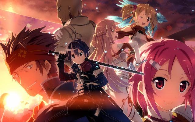 Download Sword Art Online 1-25 720p Hi10p Free Download