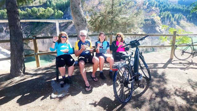 Custom Groups for a Spanish bike tour