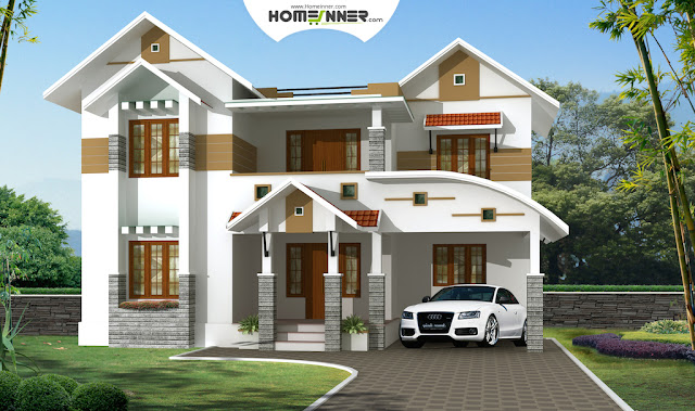3 Bhk Traditional Kerala Home design in 2050 sq ft