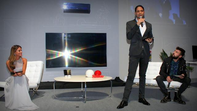 #GoodMoments LG presentó la tecnología OLED con resolución 4K, presente en sus nuevos televisores