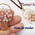 Wire Wrapped Flower Basket Pendant Tutorial