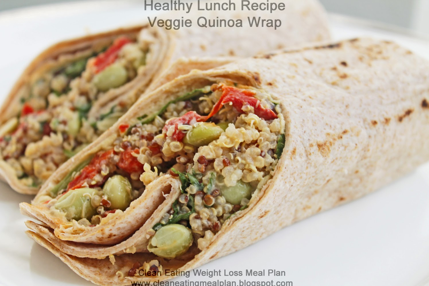 Healthy Lunch Recipe for Weight Loss Meal Plan: Veggie ...