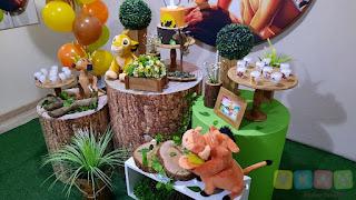 Decoração festa infantil O Rei Leão