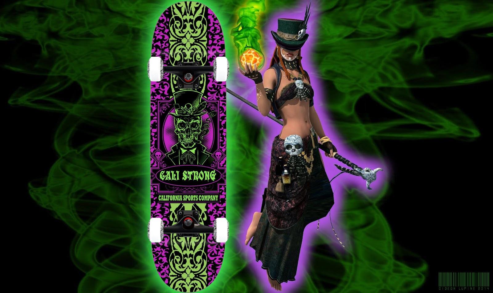 Baron Voodoo Skateboard Trick Complete