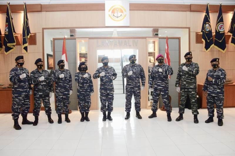 Jabatan Strategis Asops Danlantamal IV Diserahterimakan
