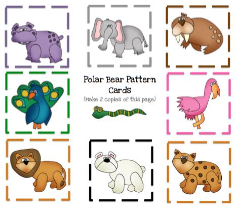 Polar Bear Quot What Do You Hear Quot Book Unit Preschool