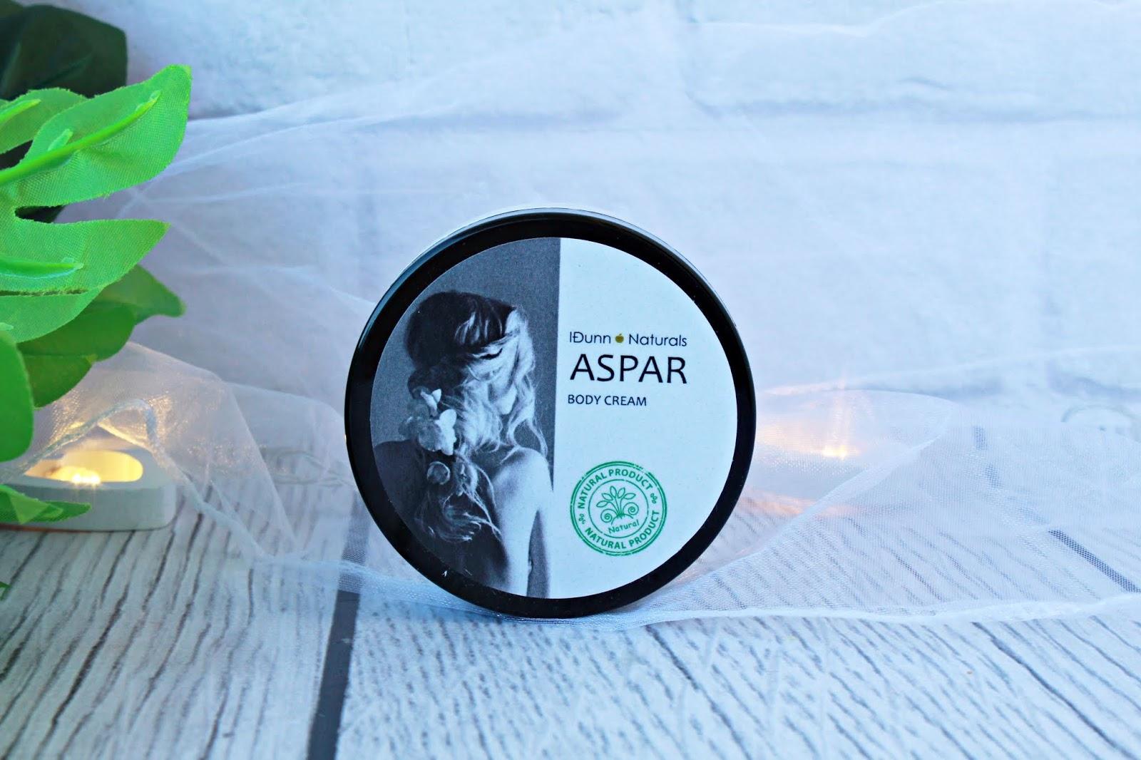 Masło do ciała Aspar z mlekiem oślim - IDUNN COSMETICS