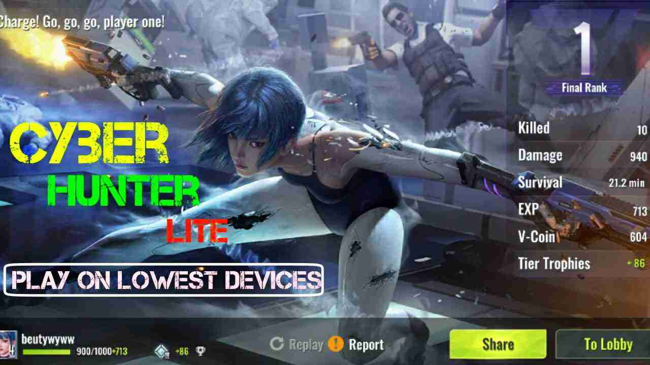 Cyber Hunter Lite Game Download ! For 1 GB RAM Smartphone - Online Tech