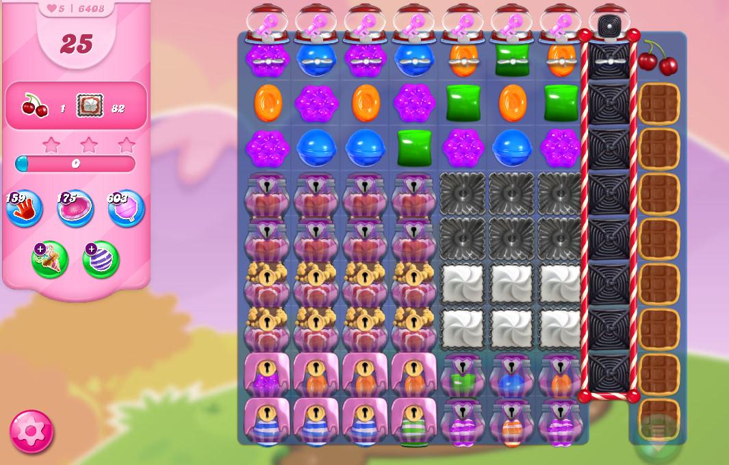 Candy Crush Saga level 6408